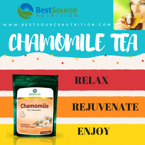 Chamomile- Dried, Calming & Soothing Herb,100gm Pack